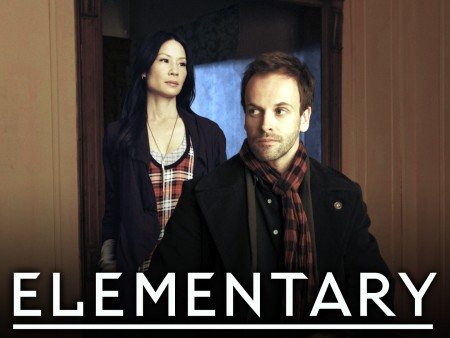 ELEMENTARY stars Jonny Lee Miller as detective Sherlock Holmes and Lucy Liu as Dr. Joan Watson in a modern-day drama about a crime solving duo that cracks the NYPDâ��s most impossible cases. ELEMENTARY premieres Fall 2012, Thursdays, (10:00-11:00 PM ET/PT) on the CBS Television Network. Photo: Craig Blankenhorn/�©2012 CBS BROADCASTING INC. All Rights Reserved.