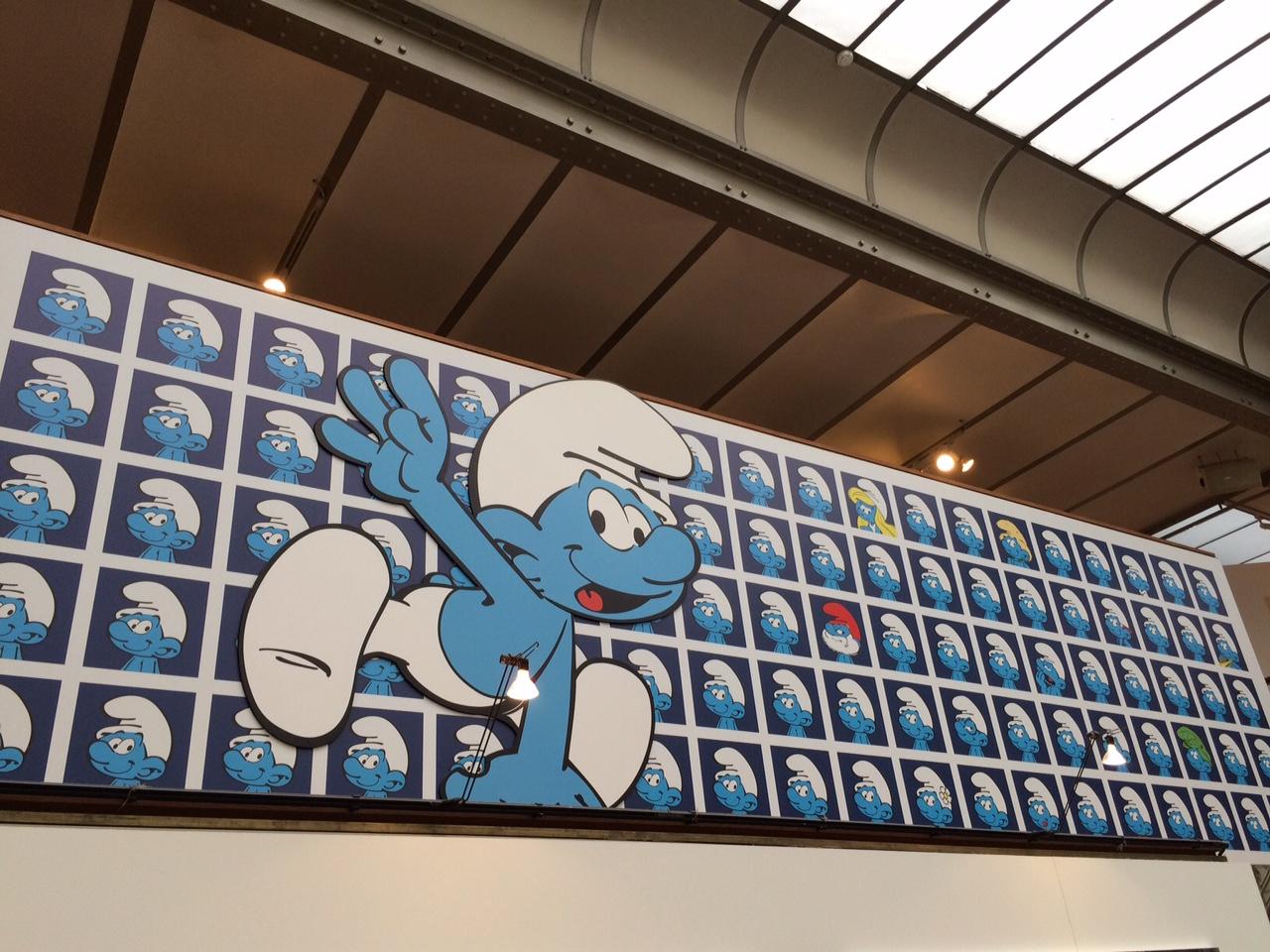 bruxelles_musée_de_la_BD_fev_2016_schtroumpf (5)